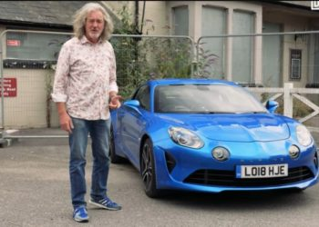 Alpine A110, James May