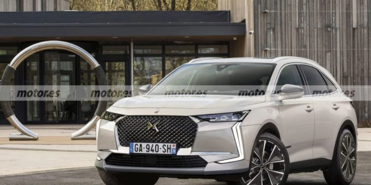 DS 7 Crossback 2022 face lifting