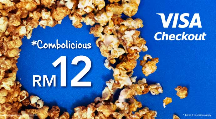 GSC Combo Promotion - Flat RM12 for Visa Checkout