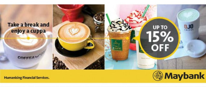 Maybank Coffee treats