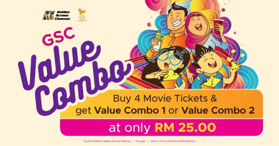 GSC Value Combo Promotion