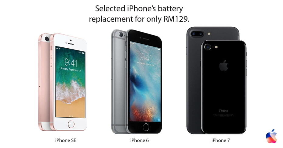Apple iPhone battery replacement
