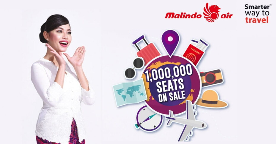 Malindo 1 Million seats on sale