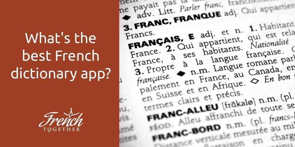 free online french dictionary audio pronunciation