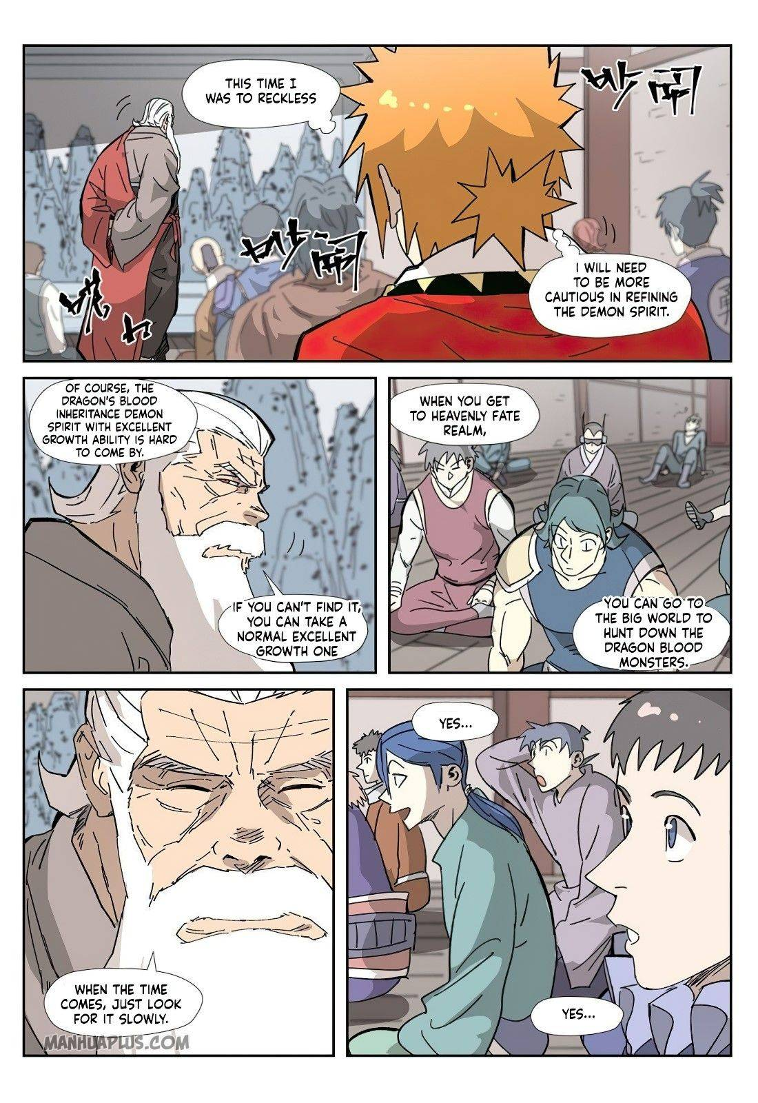 Tales Of Demons And Gods page 6