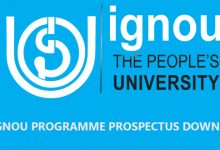 Photo of Download IGNOU Prospectus for Your Programmes