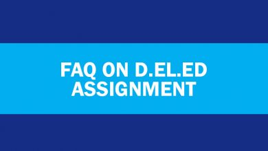 """Photo of """"Frequently Asked Questions About NIOS D.El.Ed. Assignment"""""""