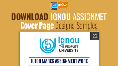 Photo of Download IGNOU Assignment Front Page Download