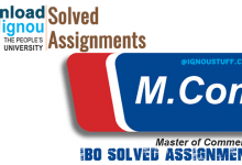 Photo of Ignou IBO Solved Assignment- Download Free