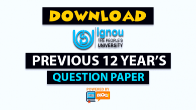 Photo of IGNOU Previous Question Papers