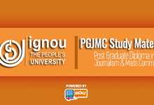 Photo of IGNOU PGJMC Study Material Free Download