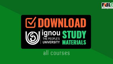Photo of Download Ignou Study Material [Updated 2020] All Courses