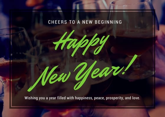 eCard for Happy new year