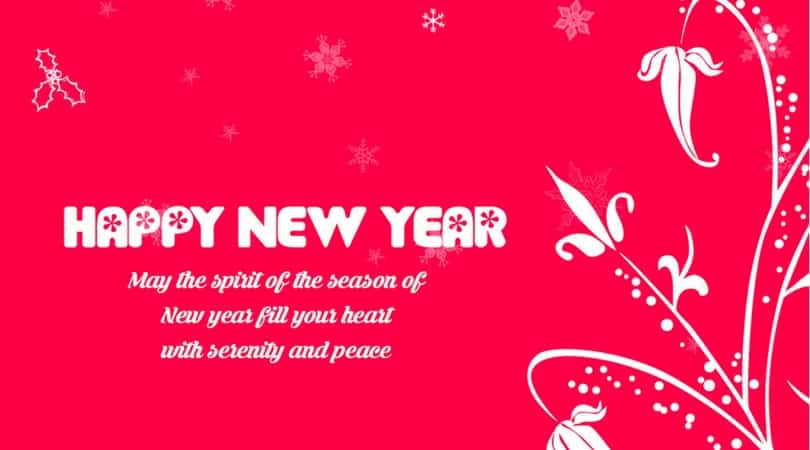 best new year greeting card