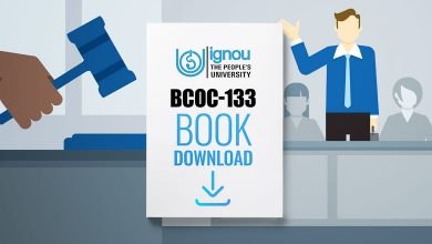 Photo of IGNOU BCOC-133 Book- Download Free