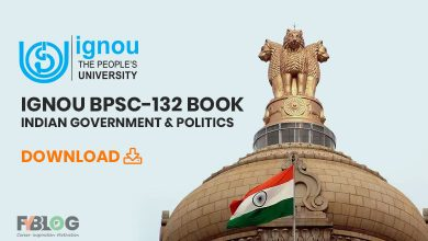 Photo of IGNOU BPSC-132 Book-Indian Government & Politics