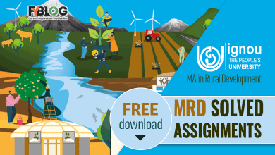 Photo of Ignou MRD Solved Assignments- Free Download