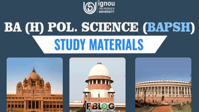 Photo of Ignou BAPSH Books- Download Ignou BA Political Science Textbooks Free