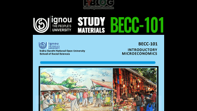 Photo of BECC-101 Study Material- Download Ignou eBook BECC-101 Pdf free