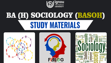 Photo of Ignou BASOH Books: Syllabus & Study Materials for BA Sociology CBCS