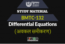 Photo of Ignou BMTC-132 Study Material | Download Free