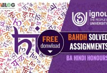 Photo of Ignou BAHDH Solved Assignments for the Current Year
