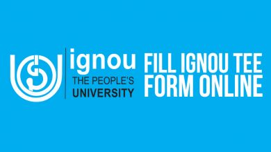 IGNOU Term-End Examination Form - How fill IGNOU From