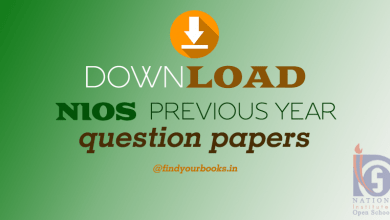 Photo of NIOS Examination Patterns and Previous Years Question Papers