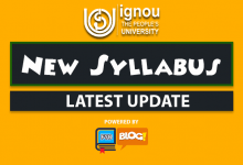 Photo of Ignou New Syllabus for BA BCOM & BSC. Under CBCS Mode July 2019- Know Details