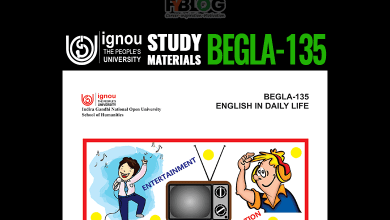 Photo of Download Ignou BEGLA-135 Textbook- English in Daily Life