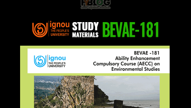 Photo of Download Ignou BEVAE-181 Study Materials Hindi Medium & English Medium