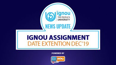 Photo of IGNOU Assignment Date Extended for Dec.2019