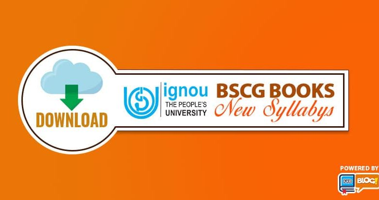 ignou BSCG books?study materials CBCS Syllabus