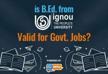 Is IGNOU B.Ed. valid for Government Job