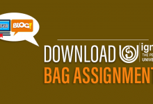 Photo of Download IGNOU BAG Assignments 2020-21