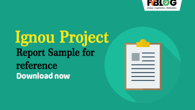 Ignou-project-sample-for-reference