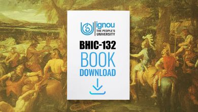 Photo of IGNOU BHIC-132 Book- Download Free