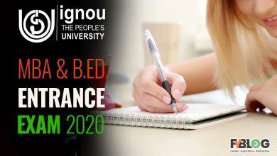 Ignou Openmant Bed Entrance Exams