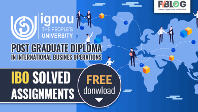 Ignou PGDIBO Solved Assignment Free Download