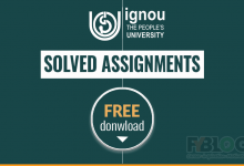 Photo of Ignou Solved Assignments Free Download