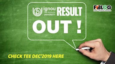 Photo of Ignou Result December 2019- Check your marks here