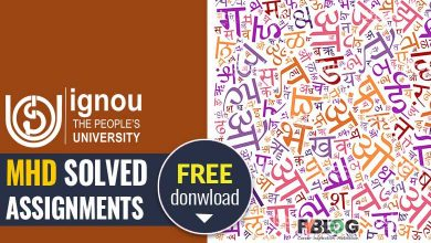Photo of Ignou MHD Solved Assignments Free Download