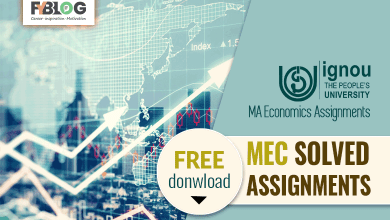 Photo of Ignou MEC Solved Assignments Free Download