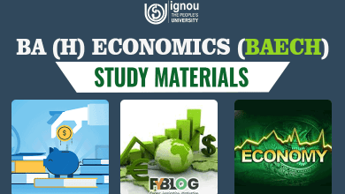 Photo of Ignou BA Economics Book : Download Ignou BAECH Study Material in Pdf