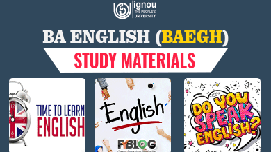 Photo of BA English Books for Ignou Students | Download your BAEGH Textbook in pdf
