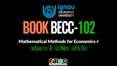 Photo of BECC-102 Study Material : Download Ignou eBook BECC-102 in Pdf