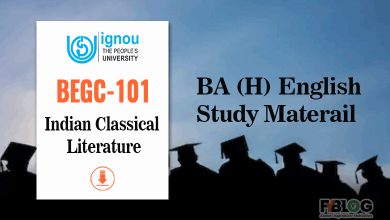 Photo of Ignou BEGC-101 Study Material- BA English Honours Book BEGC-101