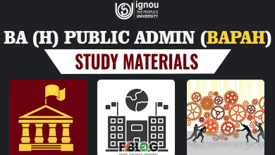 Photo of Ignou BAPAH Books- Syllabus & Study Material for BA Public Administration
