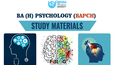 Photo of Ignou BAPCH Study Material | Know Everything about Ignou BA Psychology Course