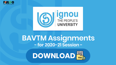 Photo of Ignou BAVTM Assignments for 2020-21 Session
